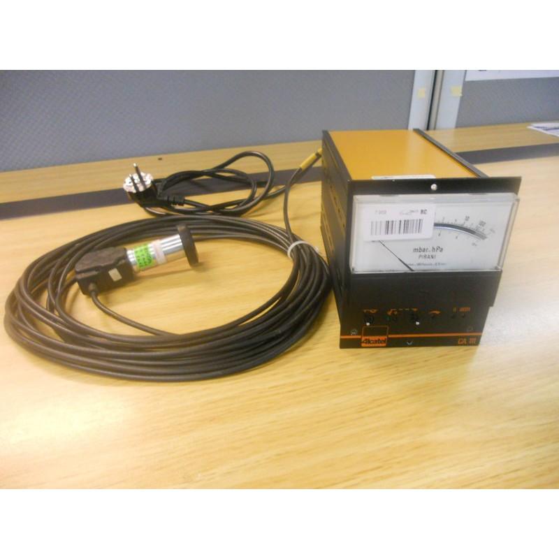 MANOMETER ALCATEL CA111 + PI3C GAUGE AND CABLE