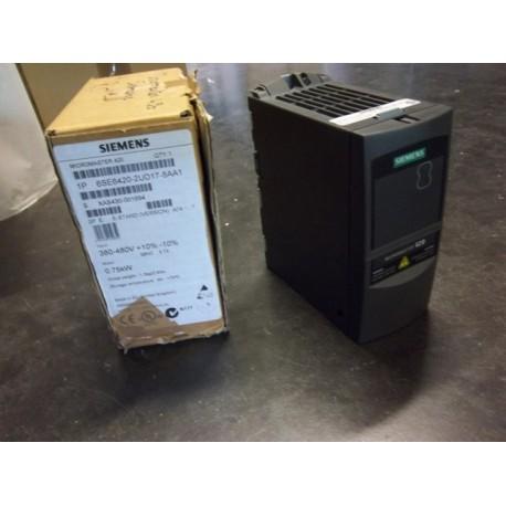 AC CONVERTER SYTEMS MICROMASTER 420