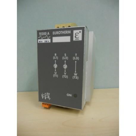 POWER CONTROLLER EUROTHERM TE200A 40A 230V