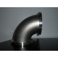 90 DEGREES ISO100-KF VACUUM ELBOW