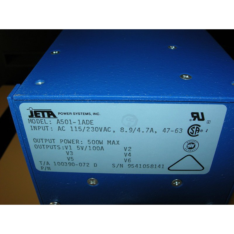 POWER SUPPLY JETA A501-1ADE