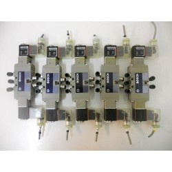 SET OF 5 - Solenoid valves bank