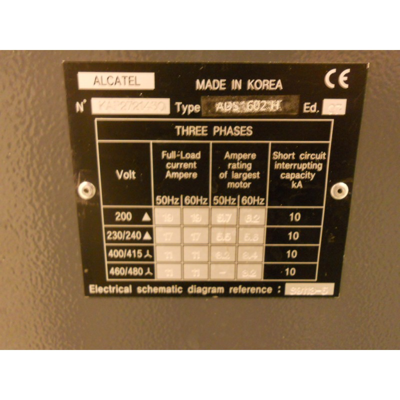 Groupe De Pompage Compact Sec Alcatel   Adixen Ads 602h