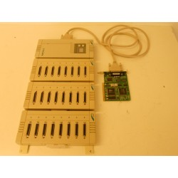 CPU MODULE WITH 3 multiports and PCI CARDS C320TURBO