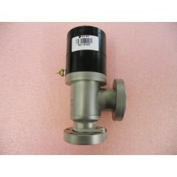High-Vacuum Right Angle Pneumatic Valve