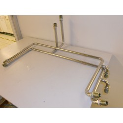 CRYO LINE PRESSURIZED STAINLESS STEEL SET OF RETURN & SUPPLY