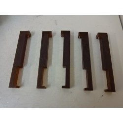 SET OF 5 CLAMP UPPER ELECTRODE