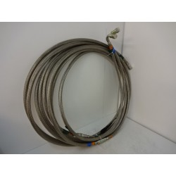 SET OF CRYO LINE PRESSURIZED STAINLESS STEEL BRAID HOSE
