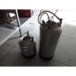 Set of 2 CANISTERS 20 & 12 liters