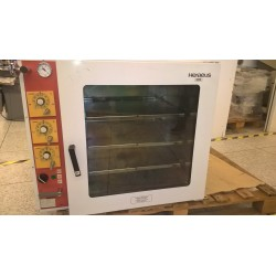 Vacuum Drying oven with 3 heated shelves