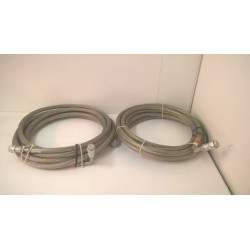 CRYO LINE PRESSURIZED STAINLESS STEEL BRAID HOSE Supply and Return Line 30 ft