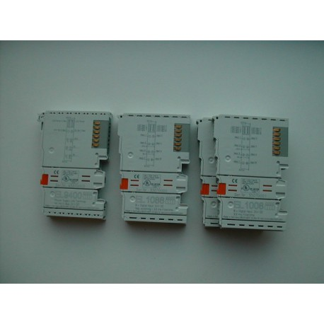 SET OF TERMINAL UNIT BECKHOFF EL1088 (X3) EL9400 (X1)