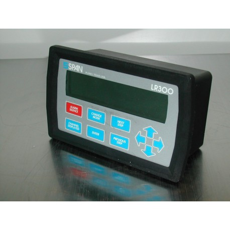 CONTROLLER 24VDC 4CHANNEL W/DISPLAY SPAN LR300
