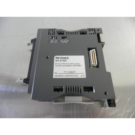 INPUT MODULE RELAY KEYENCE KV-C16X 15MA MAX.