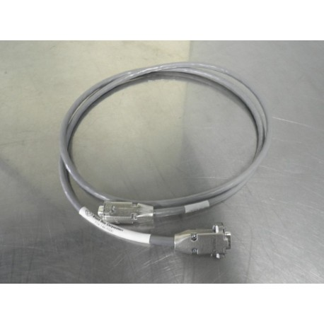 RS-232 5FT DB9-M/M EMI/RFI HOOD CABLE ASSEMBLY